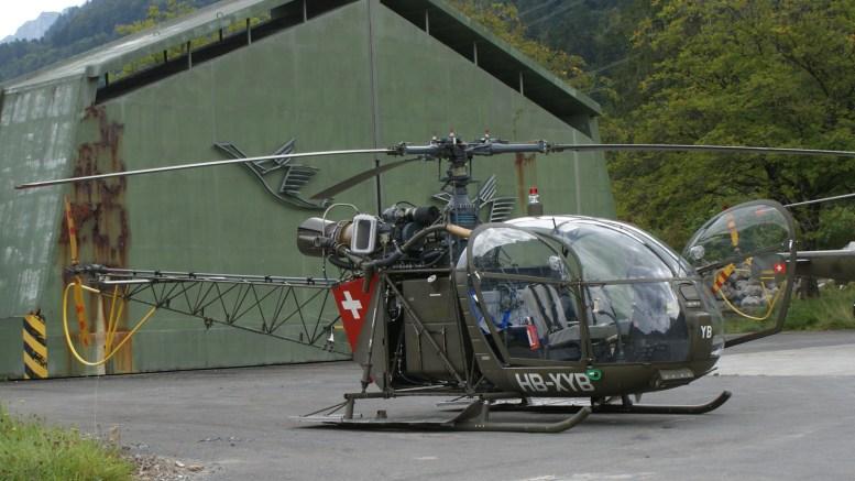 Aerospatiale Alouette II HB-XYB ex Swiss Air Force