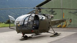 Sud Aviation Alouette III HB-XXM private ex Swiss Air Force
