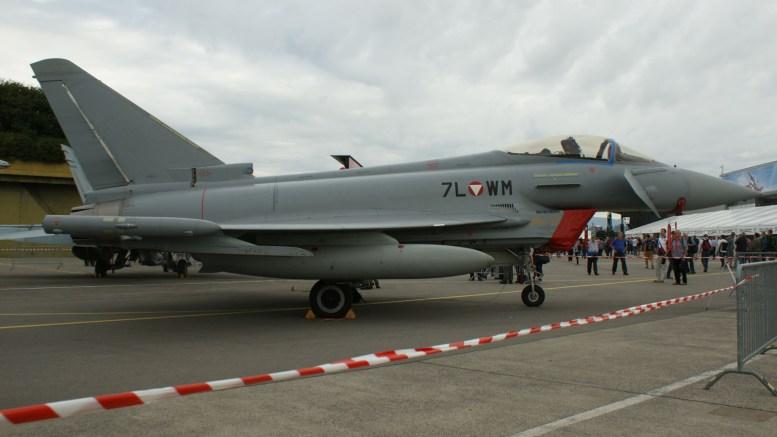 Eurofighter Typhoon 7L-WM Austrian Air Force
