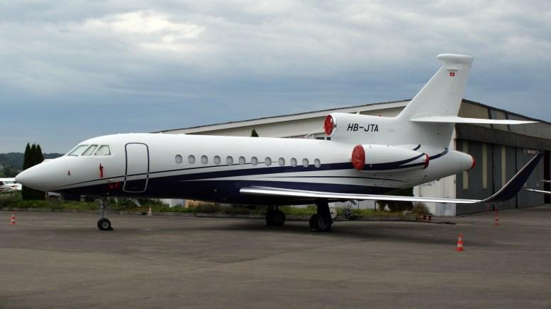 Dassault Falcon 900LX HB-JTA Air Sarina AG