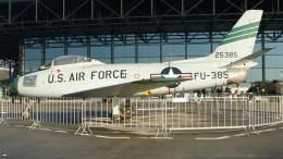 North American F-86F Sabre 52-5385 FU-385 USAF
