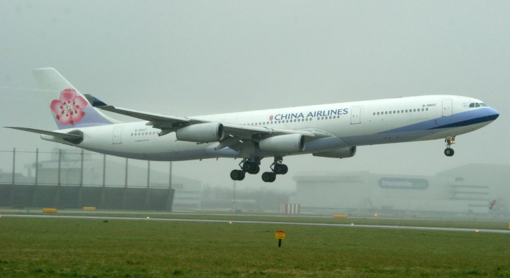 Airbus A340-313 B-18807 China Airlines
