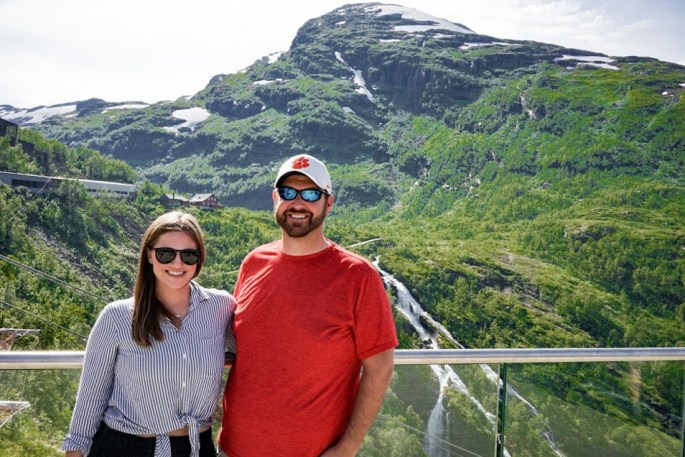 Flamsbana railway in Norway