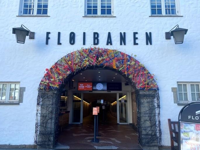 Fløibanen in Bergen