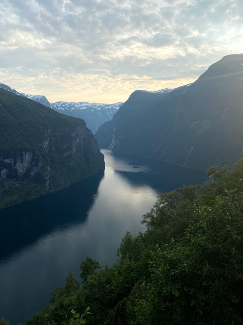 Geirangerfjord, fjord in norway