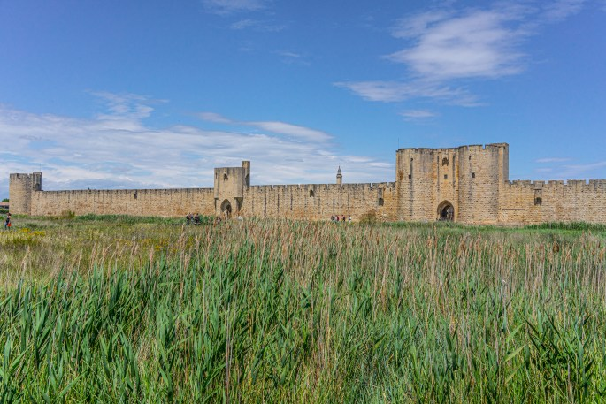 fortified walls of aigues-mortes