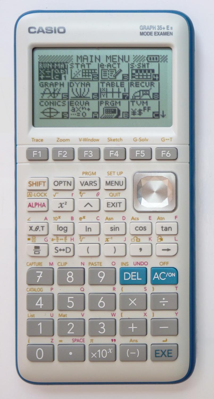 Calculatrice Casio 35+e : calculatrice, casio, Forum, Casio, Graph, Modèle, Choisir, FlamingKite, Planète