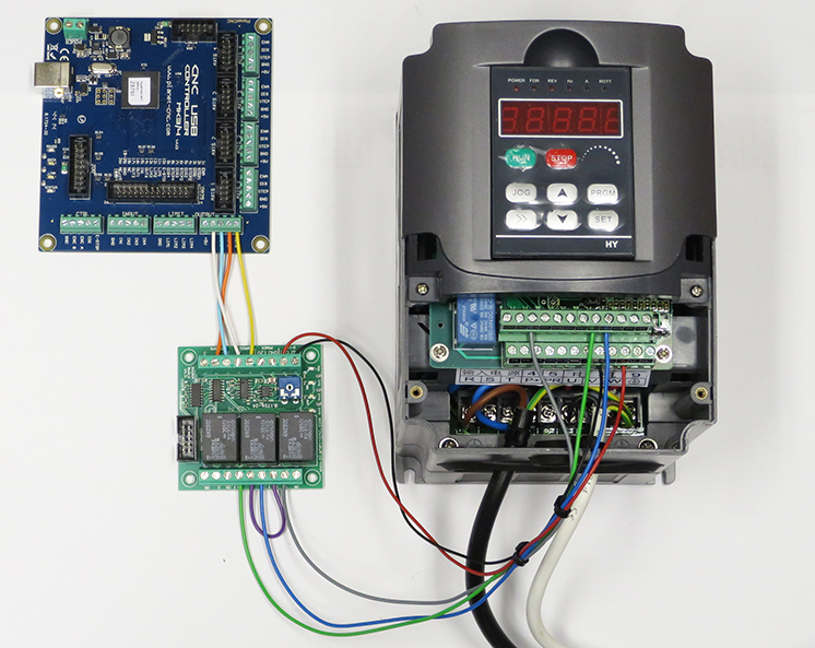 vfd control wiring diagram dometic rm2652 using output board for spindle planet cnc