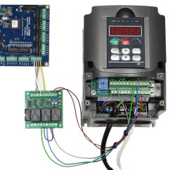 Wiring Diagram Tutorial Overhead Door Using Output Board For Spindle Control - Planet Cnc