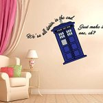 Full-Color-Vinyl-We-Are-All-Stories-Quote-Doctor-Who-Tardis-Wall-Decal-Just-Good-Deals-Style-22H-X-42W-0