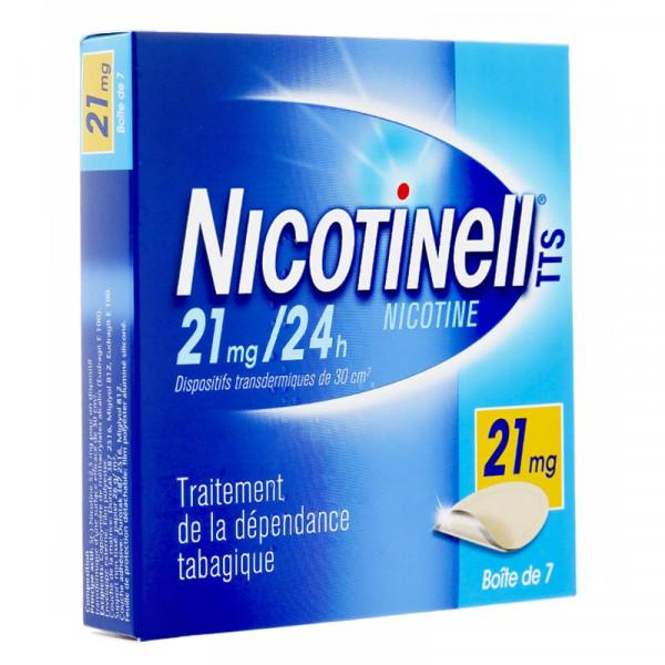 Patch nicotine pour arrêter de fumer.