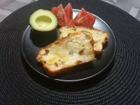Idée recette : Cake courgettes et fromage de chèvre.