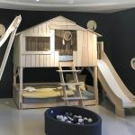 Le lit cabane, la nouvelle marotte de la literie pour enfants.