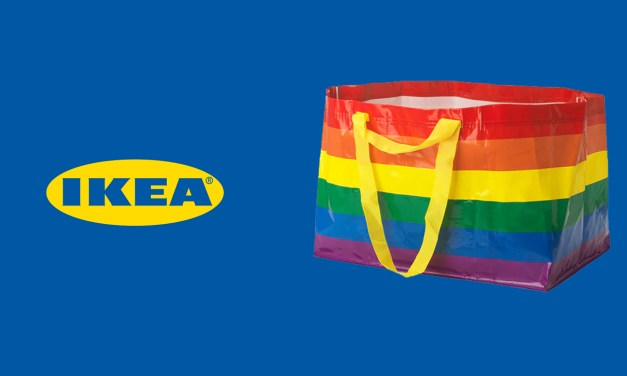 IKEA releases a rainbow bag raising money for LGBT charity