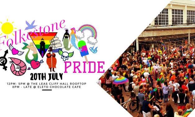 Folkestone Pride returns on 20 July 2019