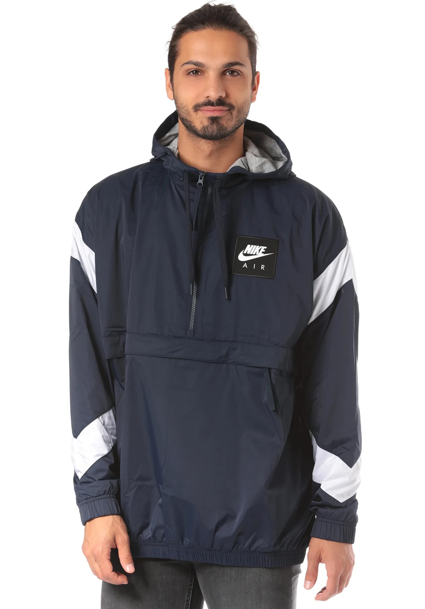 timeless design various colors authorized site Nike Kapuzenjacke Sportswear Hoody Oliv Grün/schwarz ...