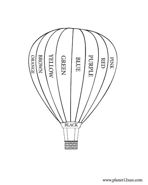 Balloon Worksheets For Preschool. Balloon. Best Free