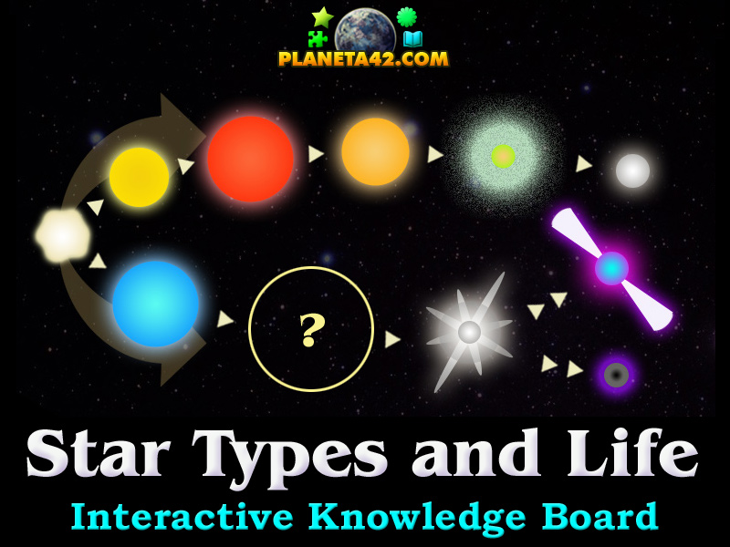 diagram of a low mass star life cycle venn dna and rna types astronomy class game puzzle picture