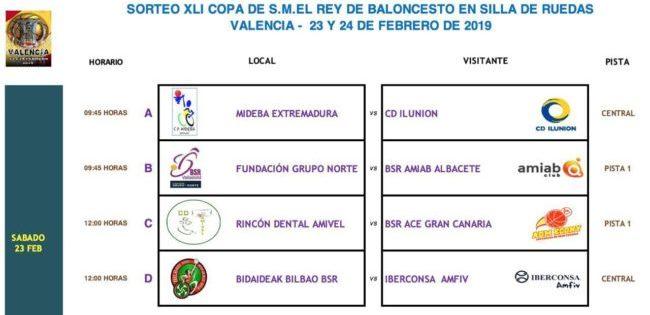 Definidos los cuartos de final de la Copa del Rey de BSR - Planetacb