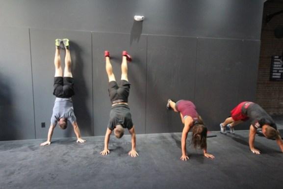 Wall Climbing crossfit
