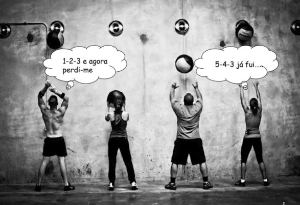 Contar reps wall balls