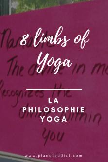 Pinterest - the 8 limbs of yoga