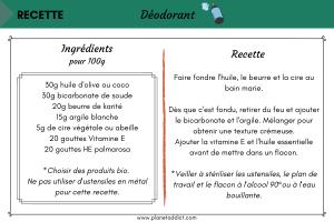 Recette-deodorant