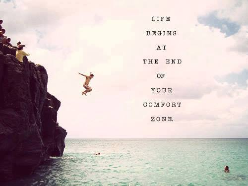 LIFE OUT COMFORT ZONE