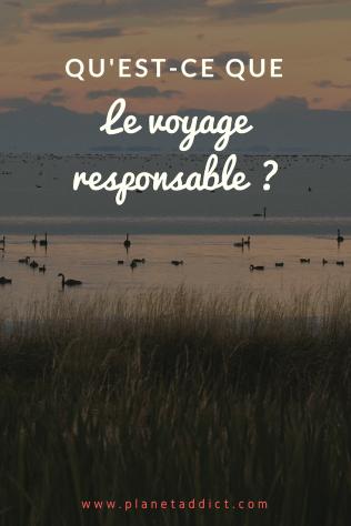 Pinterest - voyage responsable