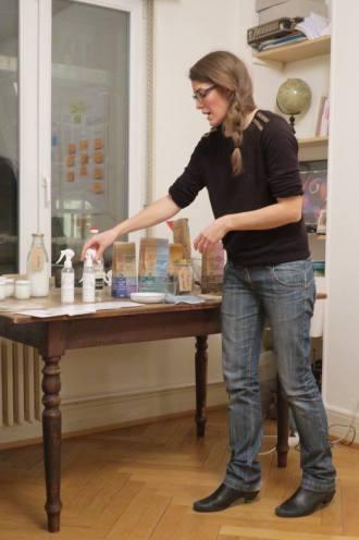atelier sur les produits ménagers