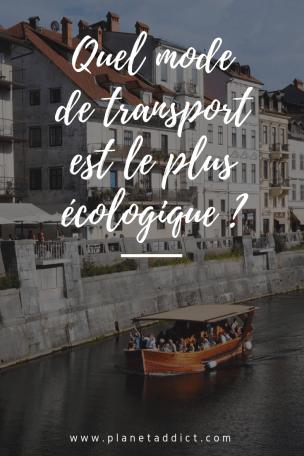 Pinterest-transports écologiques
