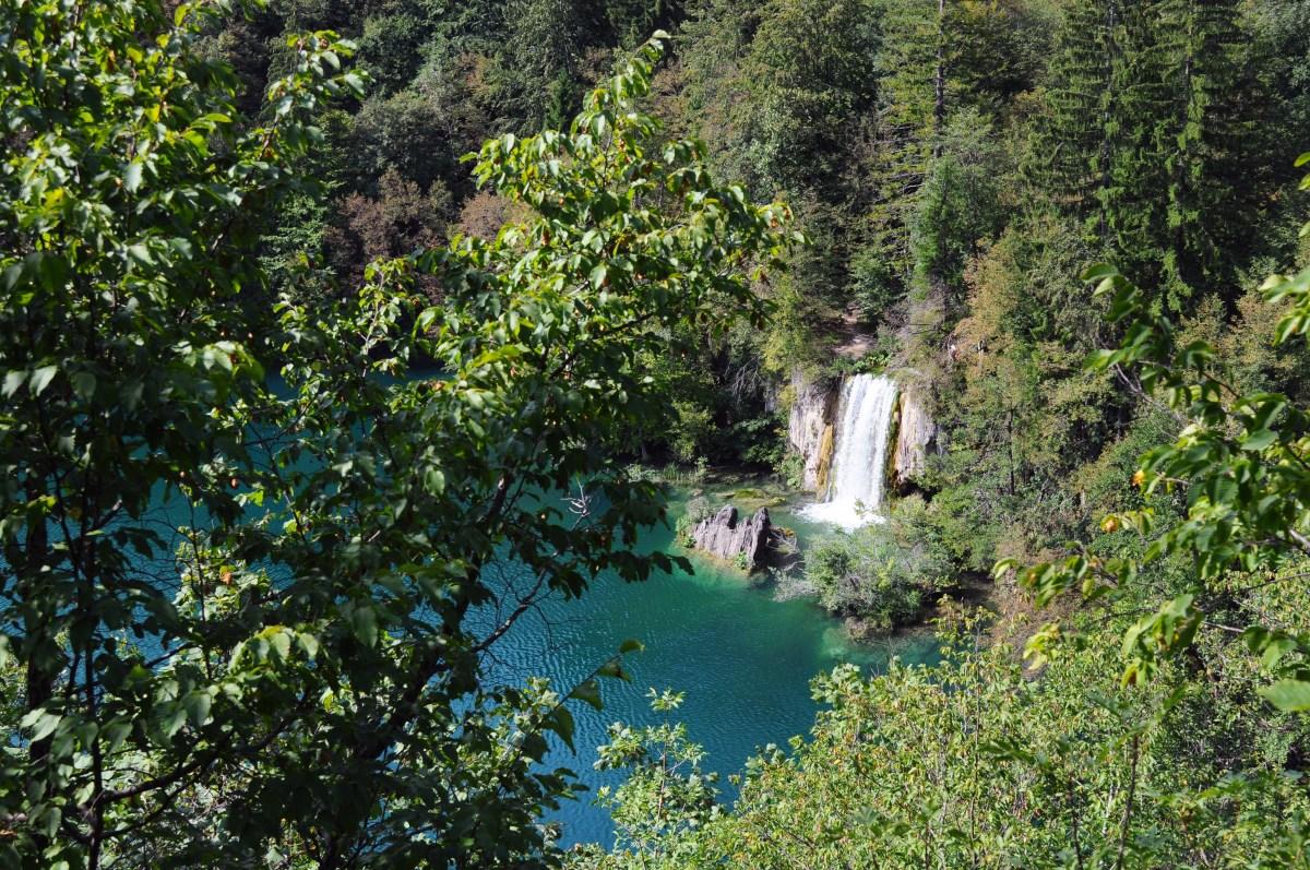 Plitvice fall