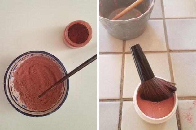 Recette DIY de blush maison