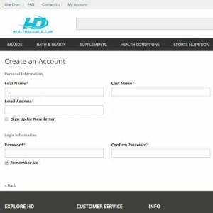 Como comprar suplementos no site HealthDesigns 1