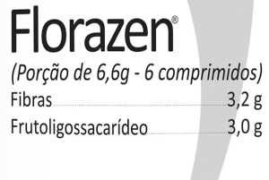 Composição Florazen Power Supplements