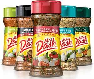 Mrs Dash Tempero sem Sal produtos