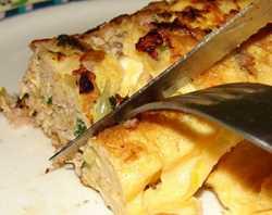 Receita de Omelete Hiperproteico de Atum