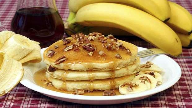 Receita de Panqueca de Banana sem Glúten