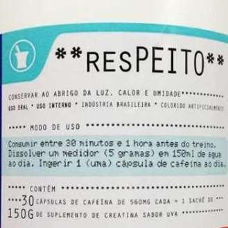 Pré Treino ResPeito Power Supplements