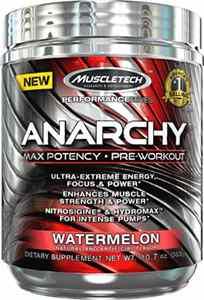 Pré treino Anarchy Muscletech