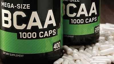 BCAA ON em cápsulas