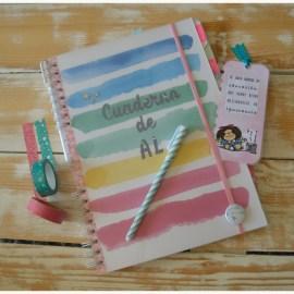 El cuaderno del maestro de AL más molón.