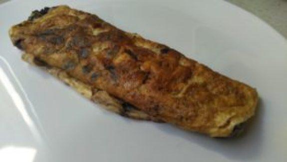 Tortilla de chocolate con canela baja en fodmaps