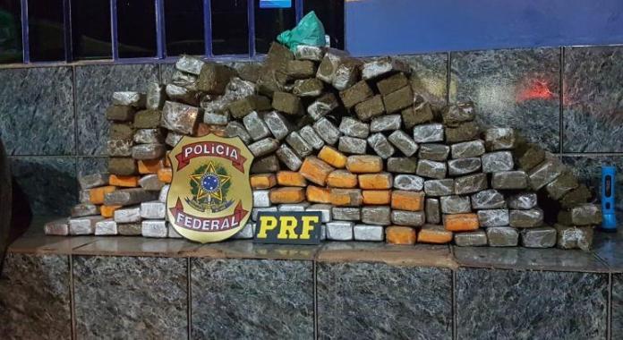 WhatsApp Image 2020 09 05 at 13.11.33 - Polícia Federal e PRF em Vilhena apreende 135 kg de maconha transportada camuflada em carreta que veio do Sul do Brasil para Rondônia