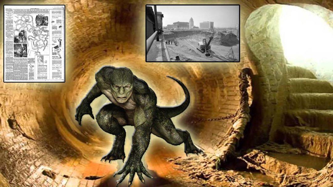 La Ciudad Subterránea en los Ángeles y el Pueblo de Reptilianos que la Habitaba