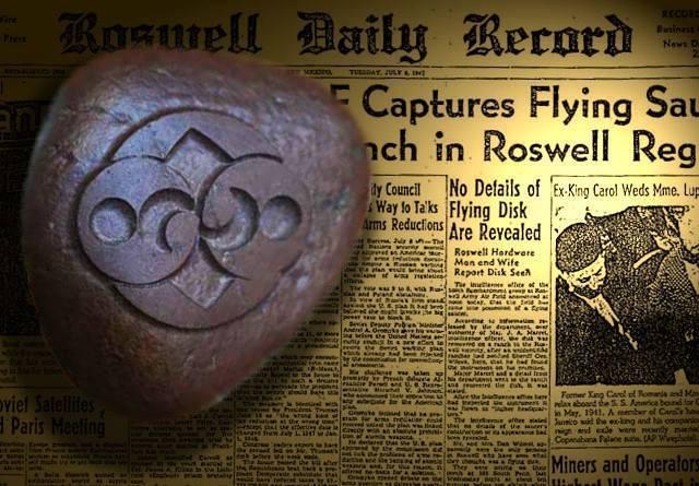 La extraña Piedra de Roswell