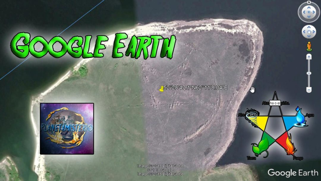 Aparece Misterioso Pentagrama o Símbolo Satánico en Rusia a Tavés de Google Earth