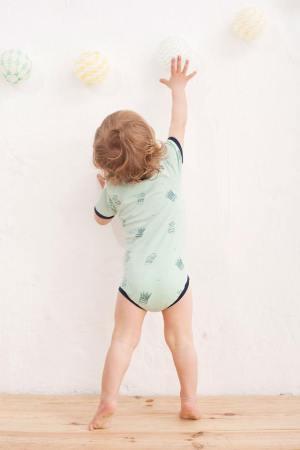 Inspirados en su hijo Lukas, han comenzado a crear ropa ecológica para niños.