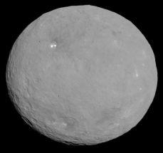 Ceres, planeta enano de nuestro Sistema Solar. En la galaxia Vía Láctea