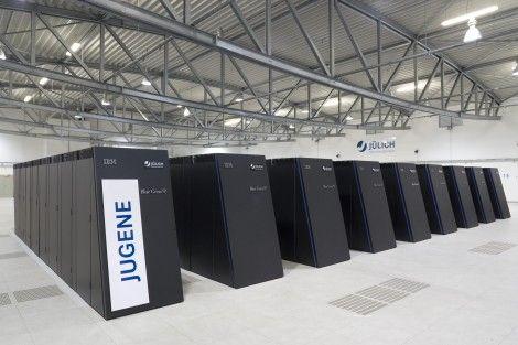 Junege, el supercomputador más rápido de Europa
